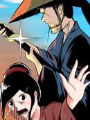 吃霸王餐的武士漫画